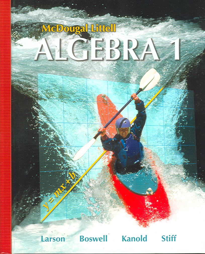 Algebra 1, Grade 9 By Holt Mcdougal (COR)